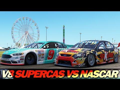 Project Cars 2: Nascar vs V8 Supercars