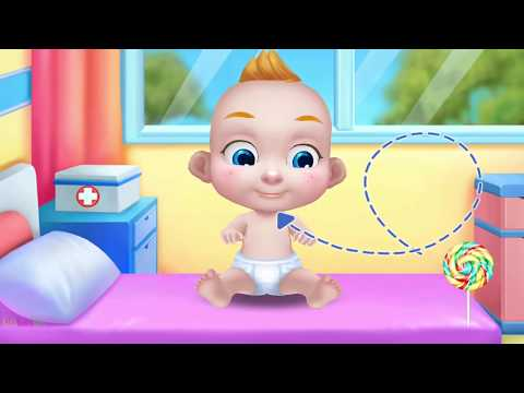 Funny Baby - Naughty Baby Care Fun Doctor Kids Games