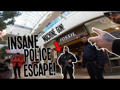 *INSANE* RIDING A BIKE INSIDE PARIS MALL! (GONE WRONG)