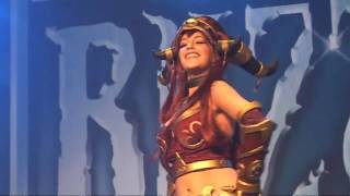 Blizzcon babes: hottest costumes and sexiest dances