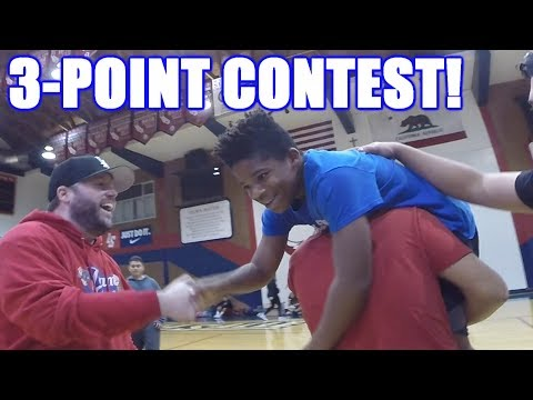 3-POINT CONTEST! | On-Season Basketball Series