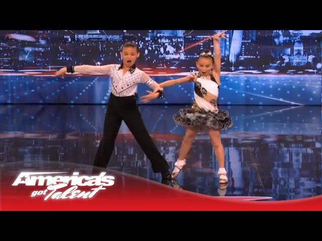 Brother and Sister Battle It Out With Dance for a Spot in Vegas - America's Got Talent Travel Video