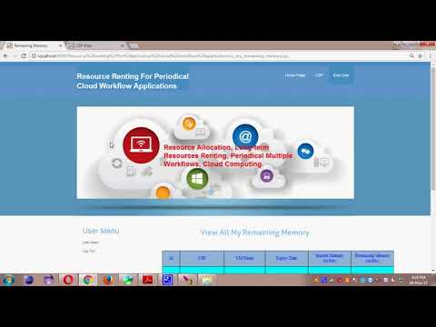 Resource renting for periodical cloud workflow applications