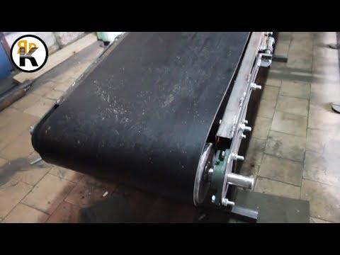 Конвейер ленточный для мешков