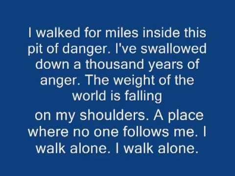 I Walk Alone  Saliva  Batistas theme song with lyrics hq