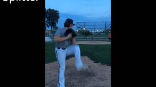 Breven Daugherity 2017 Pitching Video