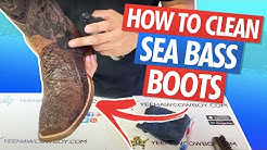 How To Clean And Condition Sea Bass Fish Boots