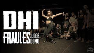 FRAULES | JUDGE DEMO | DHI 2015