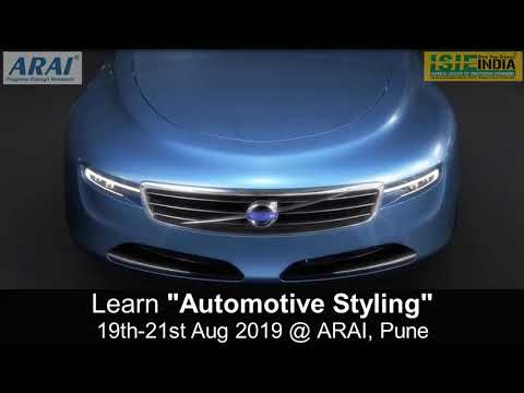 automotive-styling-course-|-03-days-program-@-arai,-pune-|-19th-21st-aug