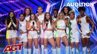 LEAK: Viral Dance Group Shuffolution Brings New Level Of ENERGY To America's Got Talent