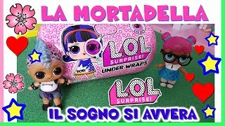 Baixar LOL SURPRISE UNDER WRAPS: Storia + UNBOXING MORTADELLA + by Lara e Babou