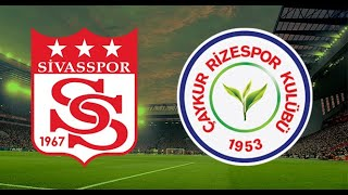 Sivasspor vs Çaykur Rizespor  Turkish Super League Highlights eFootball