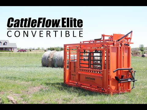Cattle Flow Squeeze Chutes - Convertible - From GoBob Pipe And Steel