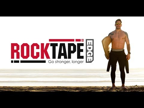 The world's best kinesiology tape perfected. Introducing RockTape Edge