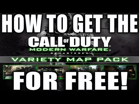 HOW TO GET THE VARIETY MAP PACK FOR FREE! MWR VARIETY MAP PACK RANTS RANT!