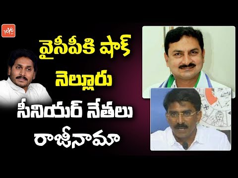 Nellore YCP Senior Leaders Quits From The Party | Big shock to YS Jagan | AP Elections | YOYO TV
