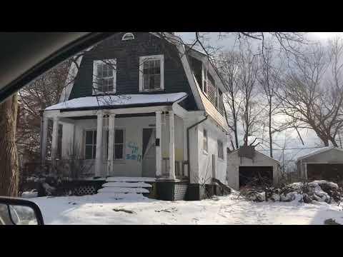 Abandoned homes. Flint Michigan