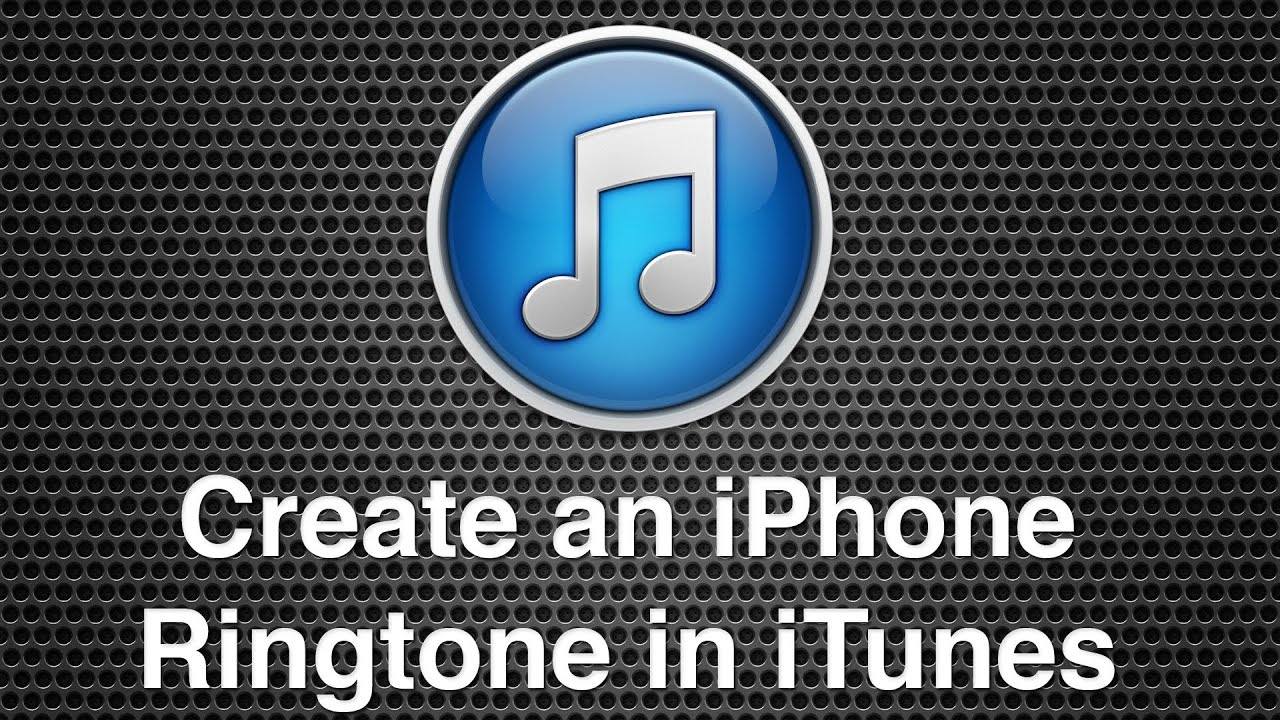 make ringtones for iphone create an iphone ringtone within itunes 8016