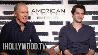 Dylan O'Brien & Michael Keaton Interview - AMERICAN ASSASSIN (2017)   iHollywood.tv