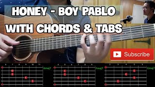 Honey - Boy Pablo ( Cover | Chords | Tabs | Guitar Tutorial | Solo )