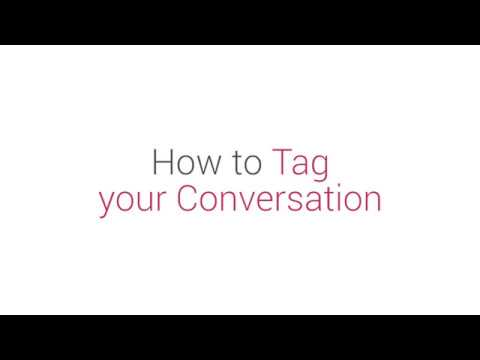 Prism Dashboard Tutorial: How to Tag your Conversation