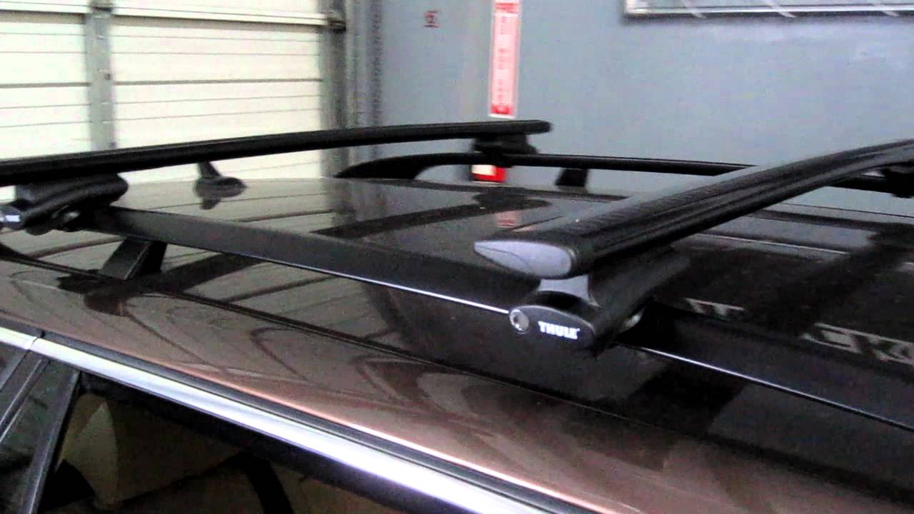 Volkswagen Jetta Sportswagen Thule Rapid Crossroad Aeroblade Roof Rack By Outers