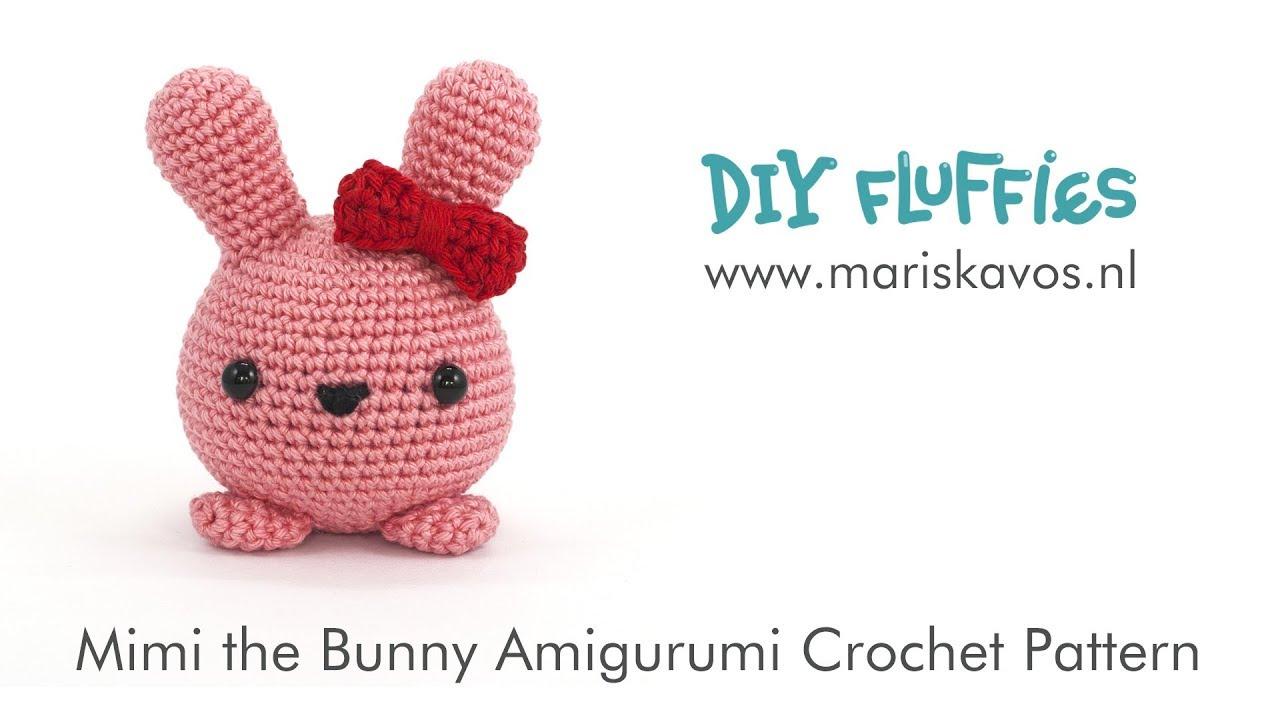 "Crochet Bunny – Dangling Bunny ""Milly"" - premium & free patterns ... | 720x1280"