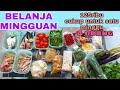BELANJA MINGGUAN TERBARU 2020  FOOD PREPARATION INDONESIA