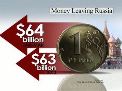 Russia feeling economic impact of sanctions, Ukraine crisis