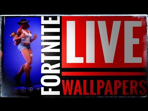 Cómo Descargar Y Aplicar Live Wallpapers De Bailes De Fortnite En Tu Android