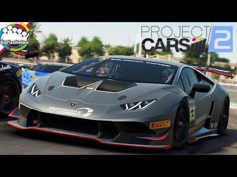 PROJECT CARS 2 - Lamborghini Huracán Super Trofeo @ Autodrome Dubai - Let's Play Project CARS 2