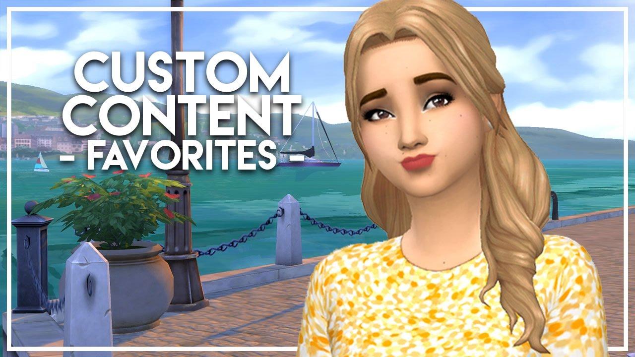 2016 Custom Content Favorites // The Sims 4