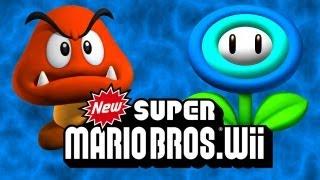 Super Mario Bros Wii #1 - Sapecagens!!!