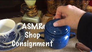 ASMR Shopping/Local consignment shop/Crinkles/lids etc. (No talking)