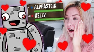 ALPHASTEIN klärt sich KELLY Missesvlog im FORTNITE VOICECHAT!