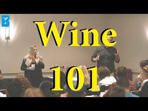 """""""Wine 101"""" - Training W/ Aaron Elliott From Monterey Bay Wine Co"""