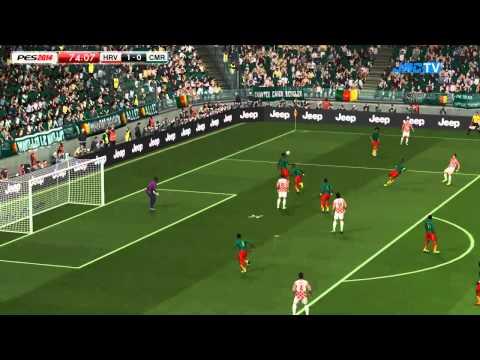 Croatia vs. Cameroon   2014 FIFA World Cup Brazil Simulation   Pro Evolution Soccer 2014 (PES 2014)