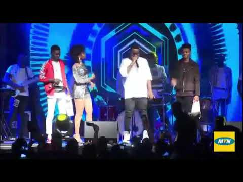 Sarkodie performance with Mzvee, Kidi, Kuami Eugene at Wave Concert left fans roaring