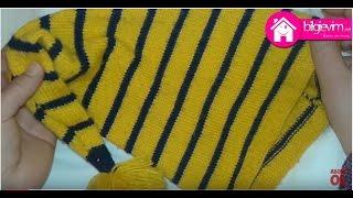 Şiş ile Yedi Cüceler Bebek Şapkası Yapılışı Videolu Anlatım