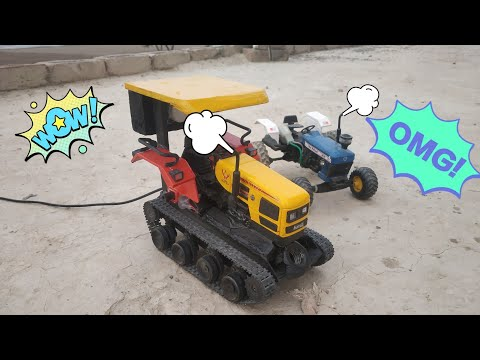 HMT Tractor Model Modified At Home Use Tank