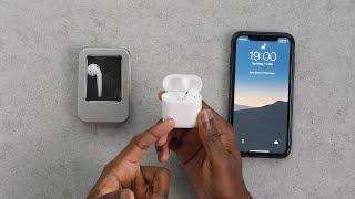 Apple AirPods: Nach Verlust Ersatz AirPod verbinden
