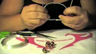 wire wrap bracelet how to instructions by trendy trinkets