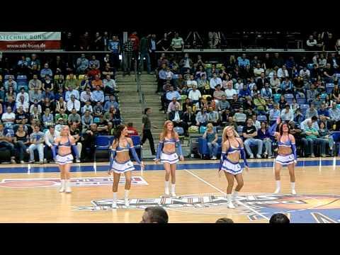 Part 2 Live Performance Cheerleaders Frankfurt Skyliners Dance Team Italians79