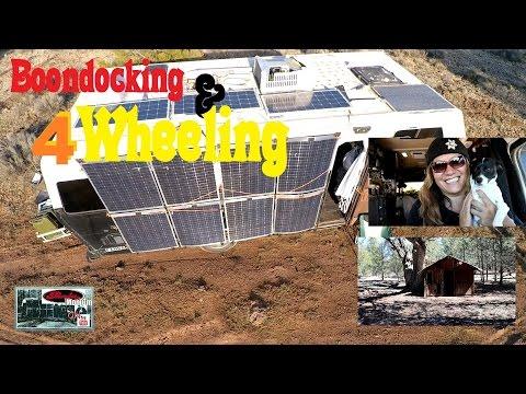 4 Wheelers & Boondocking BLM Williams, Arizona