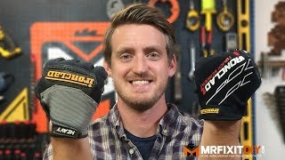 IRONCLAD WORK GLOVES | MR. FIX IT REVIEW