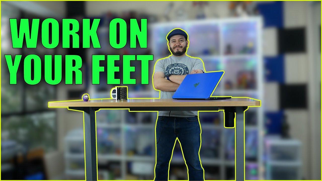 Flexispot Sanodesk Ec1 Electric Standing Desk Work Healthier For