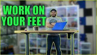 Flexispot Sanodesk EC1 Electric Standing Desk: Work healthier for CHEAP!