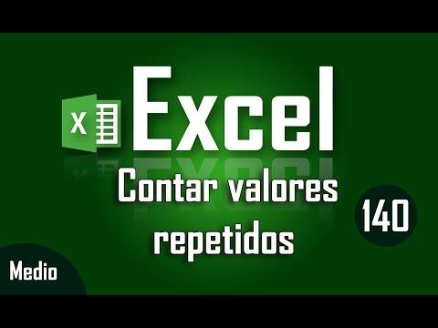 Como contar valores repetidos en un rango de Excel - Capítulo 140