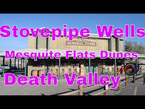 RV Travel... Stovepipe Wells California...Death Valley...Mesquite Flats Dunes...RVerTV