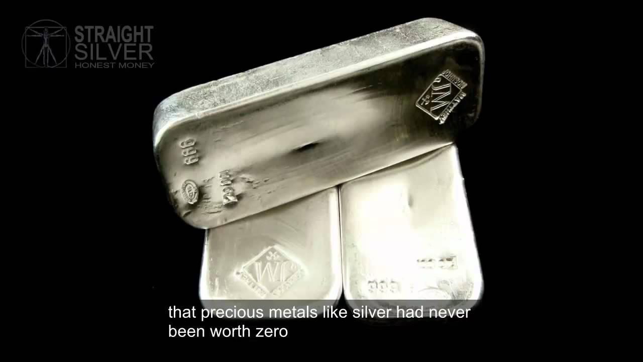 Silver Bullion Bars Investing Explained